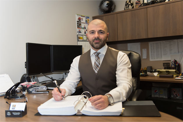 photo of Edmonton Law Office lawyer Belal Najmeddine, offering legal services for Family Law, Civil Litigation, Real Estate