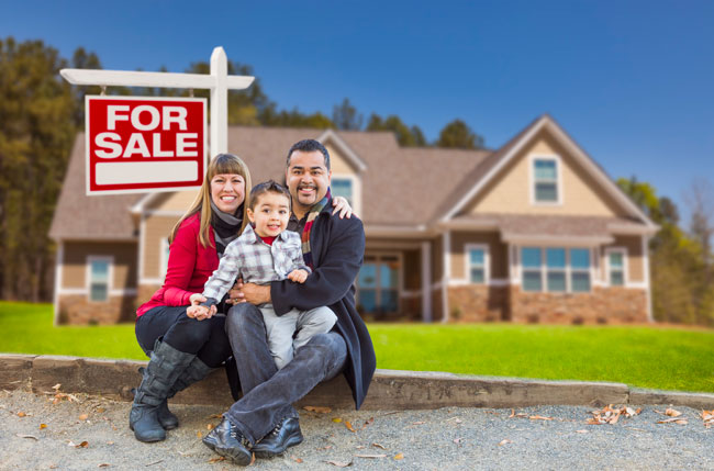 Family selling home with the help of real estate lawyer Belal Najmeddine, who assists families home sales and purchases, mortgages and refinancing.